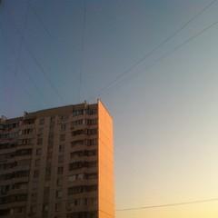 #city #home #sky #sun #summer #2014 #sunrise