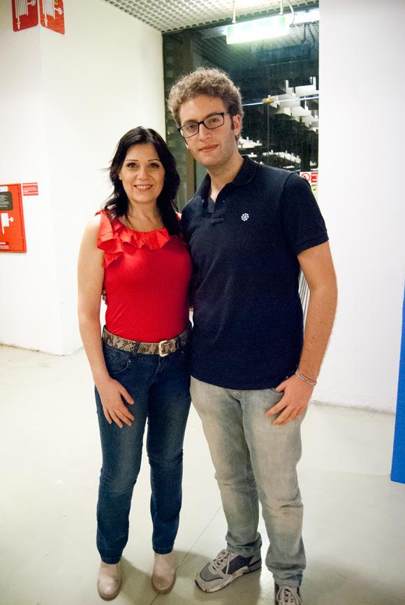 Sonia Peronaci e Vittorio Caselli