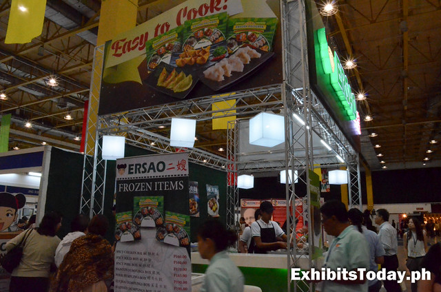 Ersao Exhibit Booth