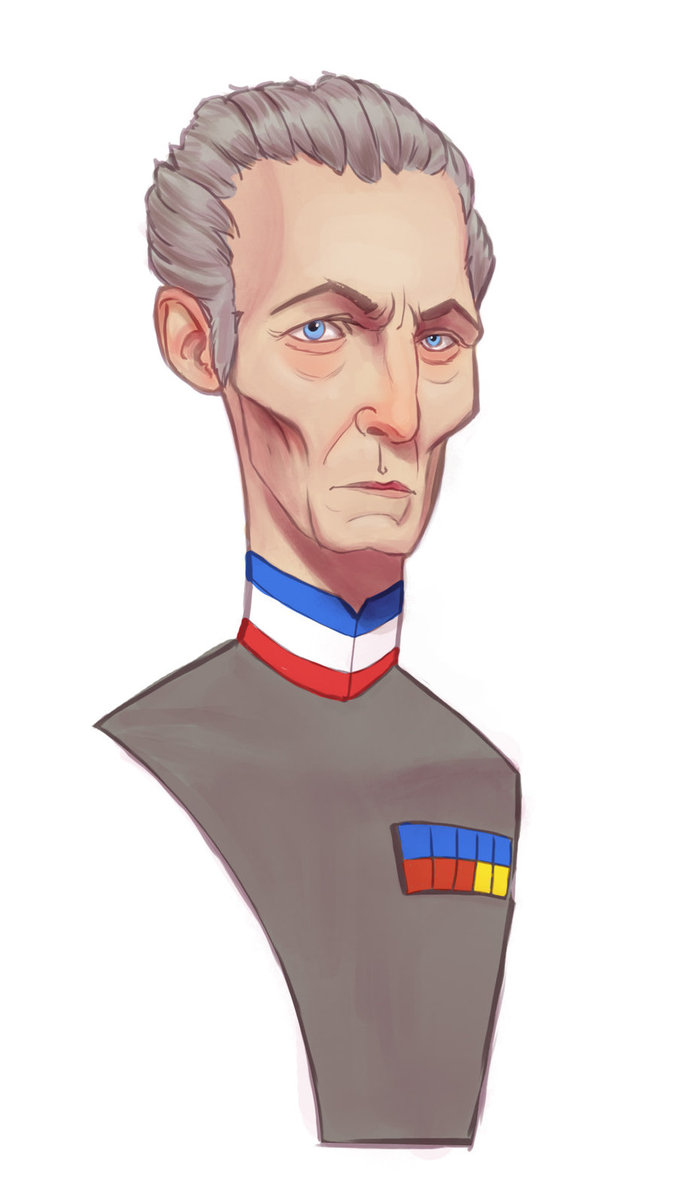 Grand Moff Tarkin by Edrice