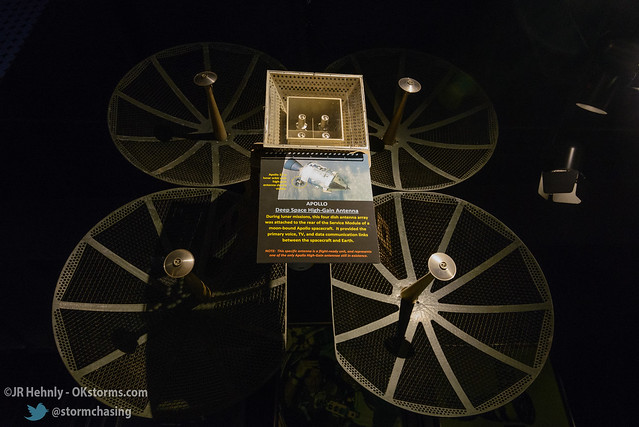 Sun, 10/26/2014 - 15:39 - This is a flight-ready antenna that was built for use on an Apollo command module for voice, video, and data communications with Earth. - Stafford Air and Space Museum - October 26, 2014 3:39:44 PM - Weatherford, Oklahoma (35.5447,-98.6700)