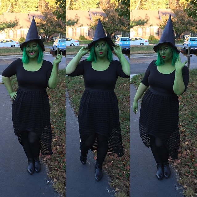 So there you go! Green Gretchen for all the world to see. I think the general idea behind this makeup would also work for a Hulk or She-Hulk costume Shrek ...  sc 1 st  Gretchen In-Between & elphaba | Gretchen In-Between
