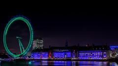 London Eye from South West - 2014-10-27 18:00