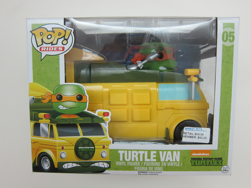Funko Pop - Turtle Van - Front