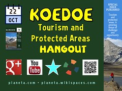 Hang out with us October 22. Koedoe Tourism and Protected Areas Hangout