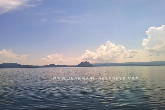 VIEW OF TAAL LAKE FROM BALAI ISABEL USING NOKIA LUMIA 930.