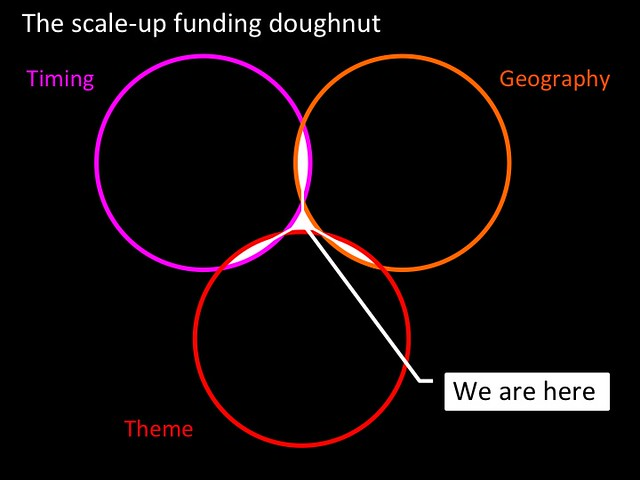 The scale-up funding doughnut