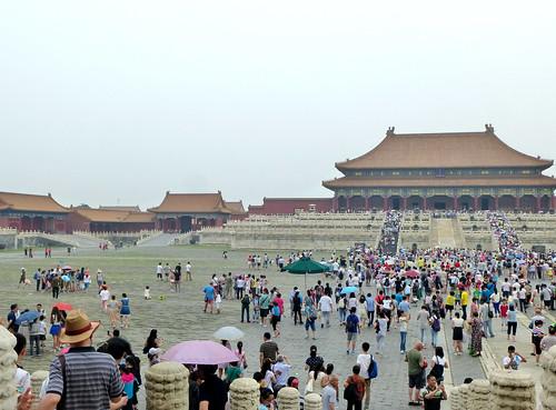 Beijing-Cité Interdite-Porte de l'Harmonie Suprême (8)