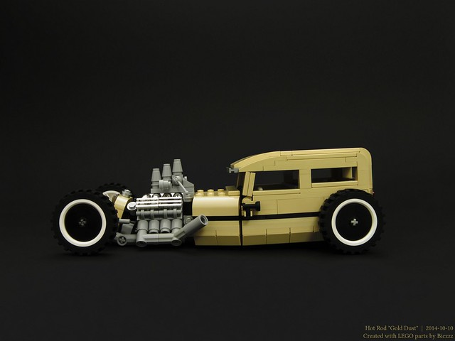 "Hot Rod ""Gold Dust"""
