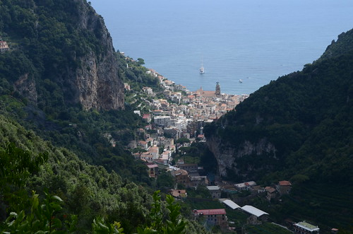 Ravello to Amalfi