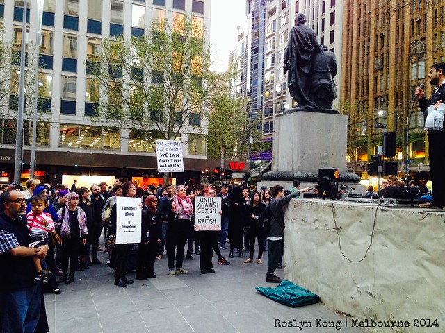 Freedom of Speech, Melbourne
