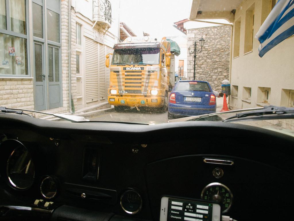 Village driving