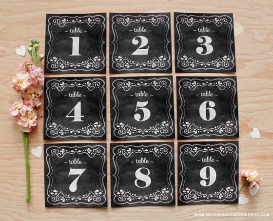 5-Lavagnette-per-numerare-i-tavoli--Chalkboard-Wedding-Table-Numbers