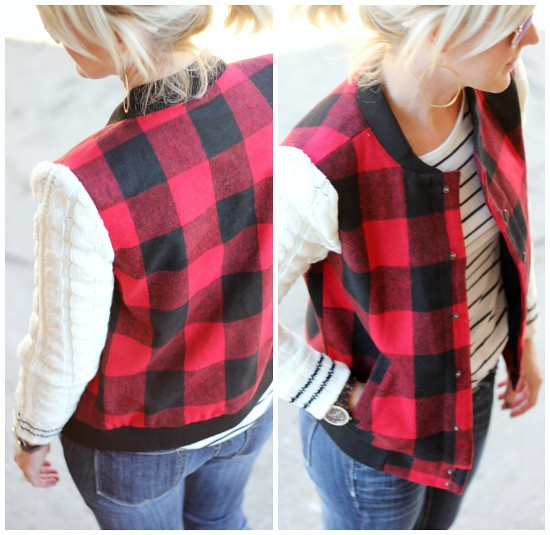 Hi Sugarplum | Plaid Jacket