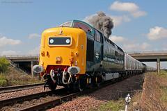 55022/D9000 around the Blyth & Tyne.