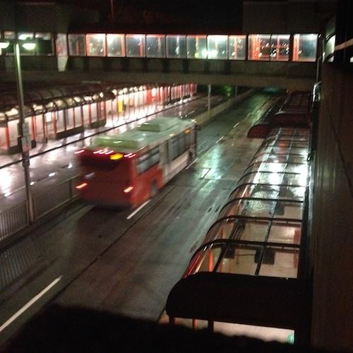 rainy transitway