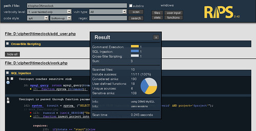 RIPS - Static Source Code Analysis For PHP Vulnerabilities