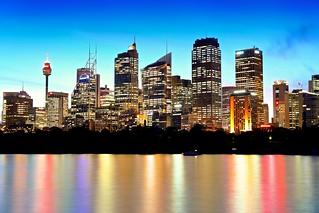 Sydney & Sunset