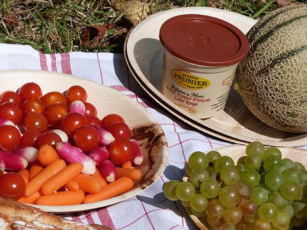 petits slégumes et rillettes