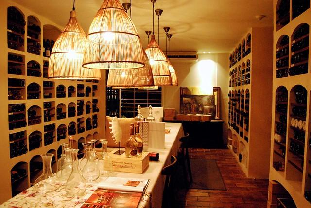 Ambient Wine Cellar at Rekondo