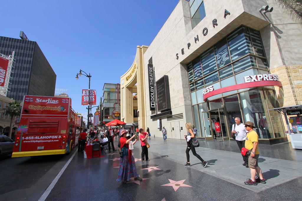 Hollywood Walk of Fame - Hollywood & Highland