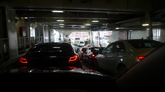Queueing To Leave The Ferry