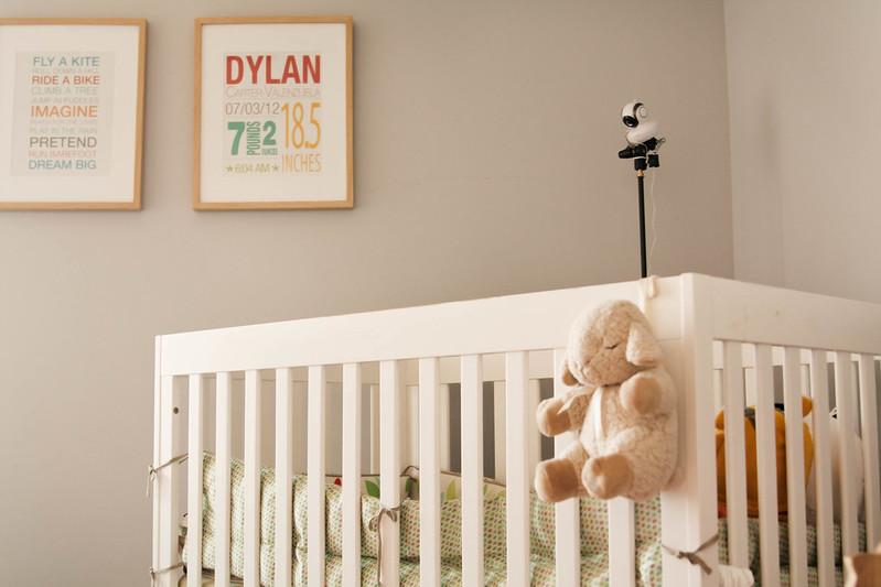 Baby Room Monitors whats included Cute Little Blog Motorola Mbp36s Baby Monitor Nursery Crib Setup Motorolababymonitor