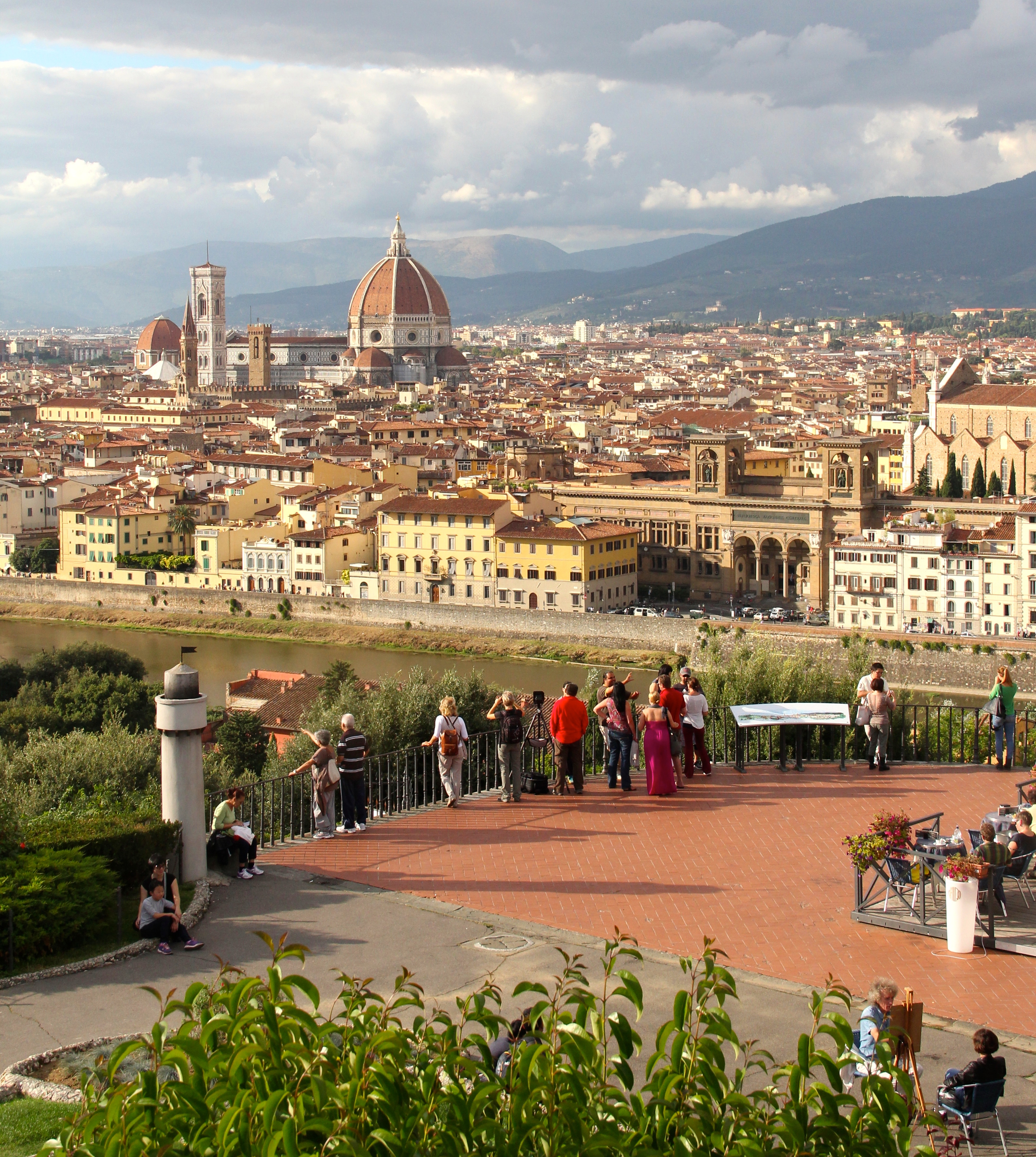 Resultado de imagem para Piazzale Michelangelo