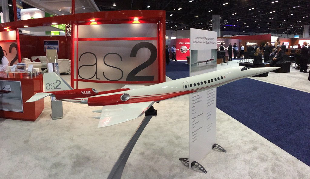 Aerion hopes a team-up with Airbus means a supersonic future. Engine selection will be big milestone. #NBAA14