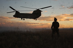 Special Forces Basic Combat Course-Support culminates with night air assault raid exercise