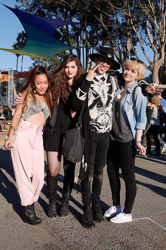 sara, ata, sebastian, ama Quick Shots, San Francisco, street fashion, street style, Treasure Island, treasure island music festival, women