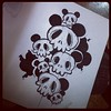 If you're in a waiting room I recommend sketchpads! #toysociety #skulls #umetoys #richpage