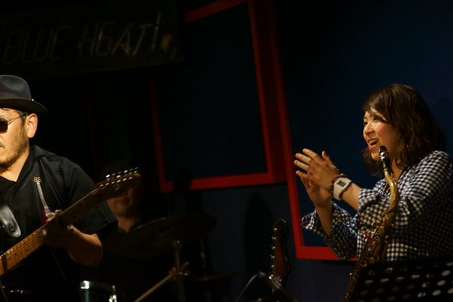 blues live at Blue Heat, Tokyo, 24 Oct 2014. 202