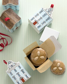 Printable Town House Cookie Boxes - Martha Stewart Crafts