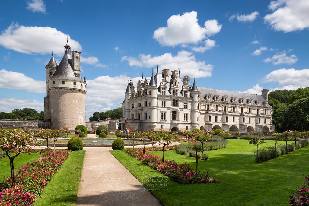 Castillo de Chenonceau jardines