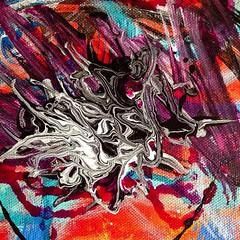 Second canvas, 3rd layer, section 3. #bloomtrue #art #abtractart