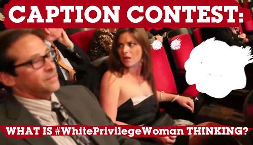 white privilege woman