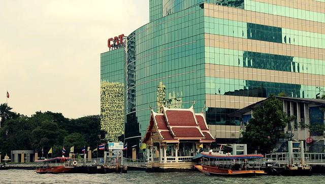 Como circular por Bangkok