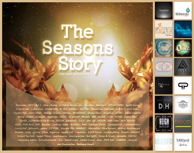 The Seasons Story Anniversary Coming soon <3