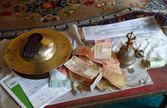 Hemis Monastery: Lama's Desk ~ Pupitre