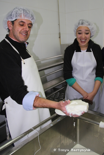 2 - мастер-класс по приготовлению сыра - традиции Португалии