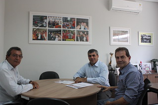 Lideranças de Ourinhos têm reunião com Paulinho da Força e David Martins em São Paulo