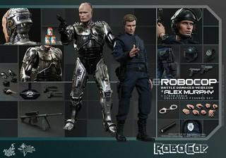 Hot Toys新發表!戰損版機器戰警與墨菲警探