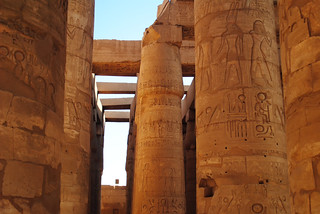Egypt - Pillars at Karnak