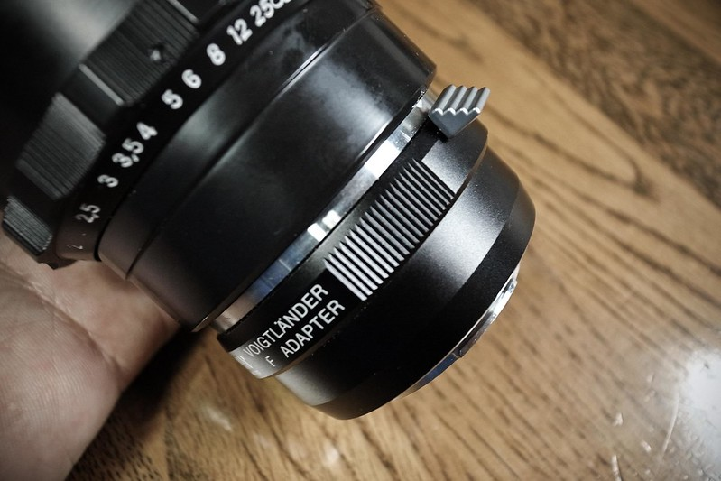 Nikon→m4/3 mount adapter