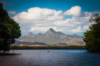 Montañas de Macanao desde La Restinga