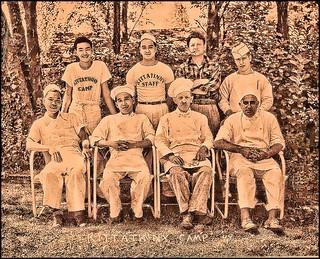 Kittatinny Summer Camp cooking staff 1949
