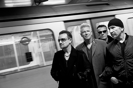 U2 Songs Of Innocence promo photo
