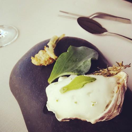 Azurmendi oyster
