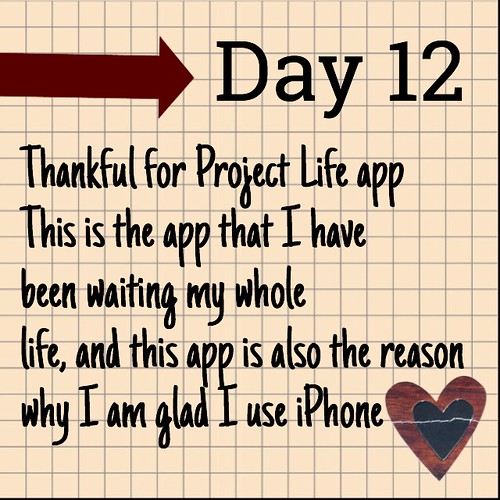 Day 12 Project Life App